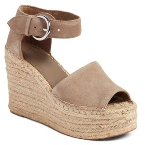 Marc Fisher Alida Espadrille Wedge Sandals